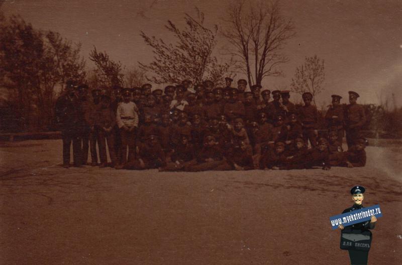 Ейск. Ученики Ейского реального училища, 1910 год