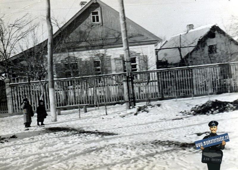 Краснодар. Зима 1962 года