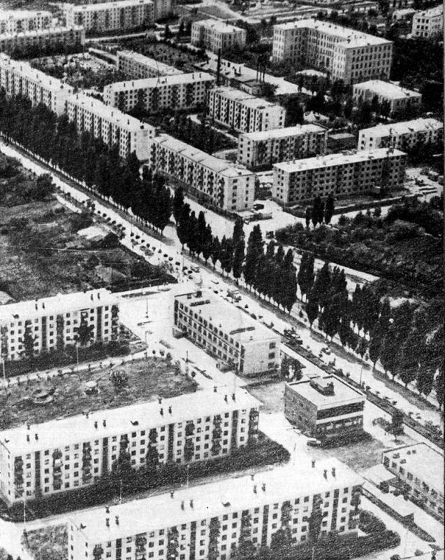 Краснодар. Черёмушки, 1968 год.