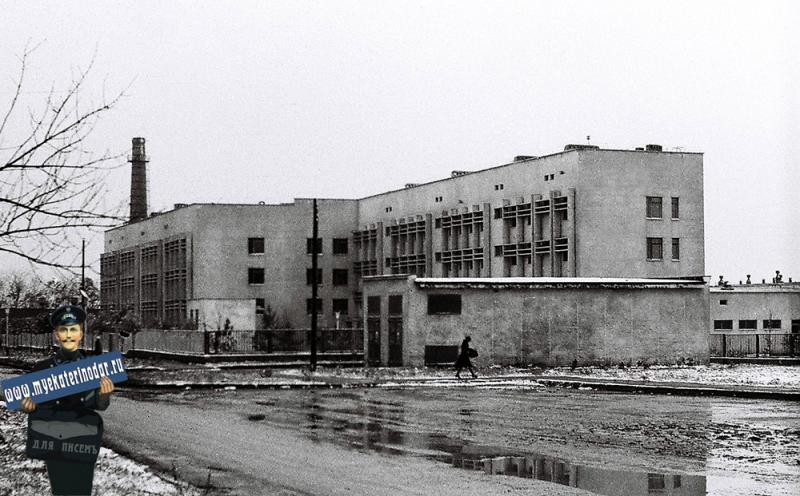 Краснодар. Детская инфекционная больница, 1979 год.