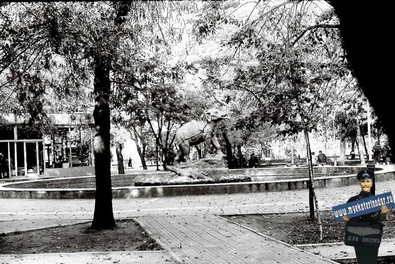 Краснодар. Детский сквер им.Свердлова, 1979 год.