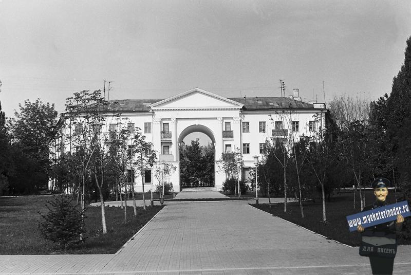 Краснодар. Дом на перекрестке Дзержинского-Гаврилова-Красной, 1978 год.
