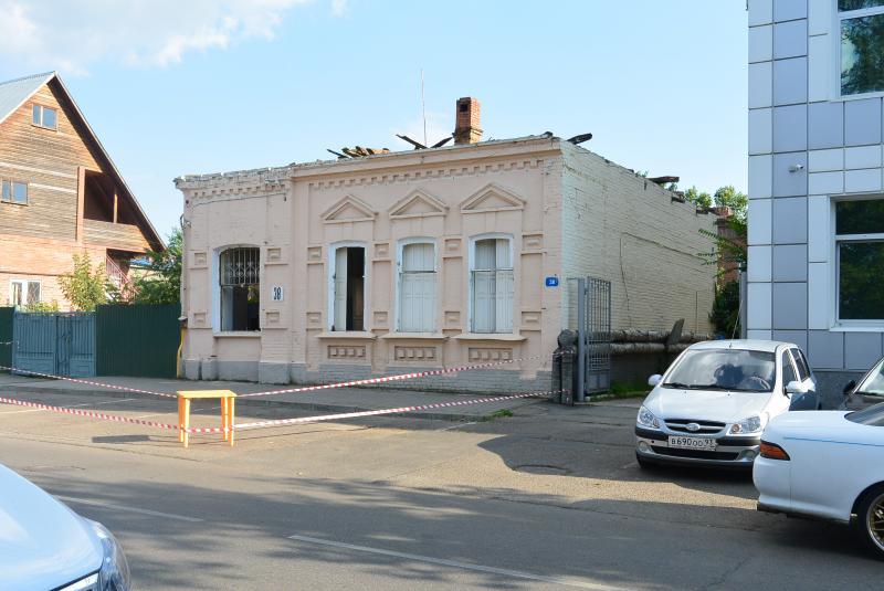 Краснодар. Улица Пушкина, дом № 38, перед сносом