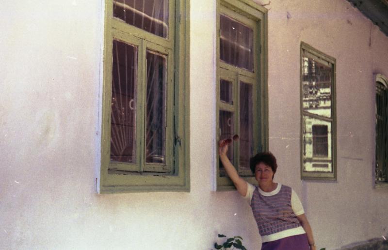 Краснодар. Дом по ул. Советской 34, вид со двора, 1988 год.