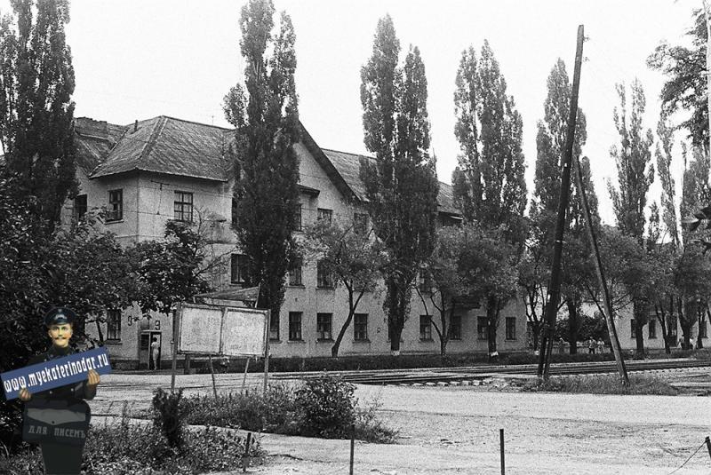 Дома  поселка ТЭЦ  в поселке Пашковском, 1978 год.