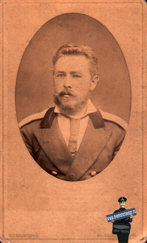 Екатеринодар. Фотоателье Белецкого П.С., декабрь 1880 года