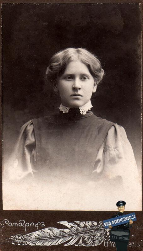Екатеринодар. Фотоателье Шавловского С.А., 1907 год