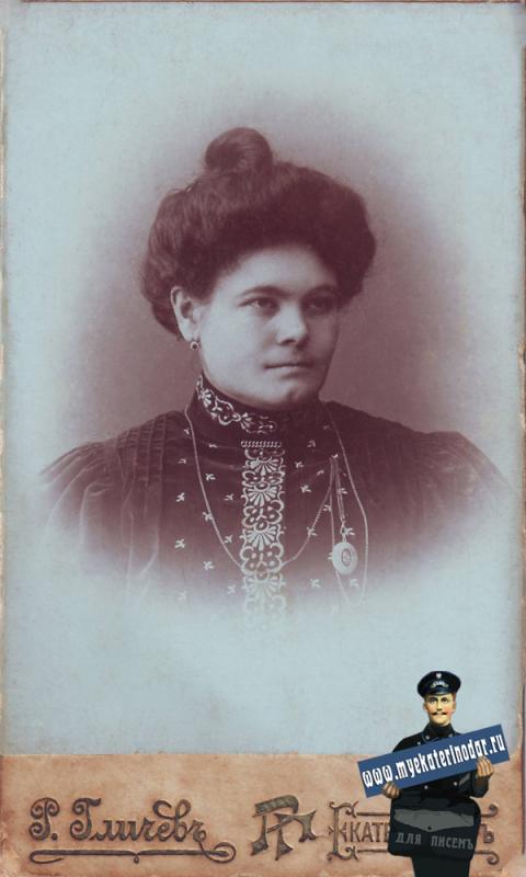 Фотограф Гличев Р.М.: Леженина Анна Дмитриевна