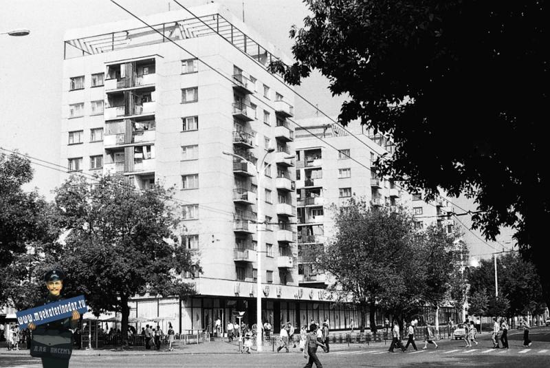 "Краснодар. Кафе ""Романтики"", 1978 год."