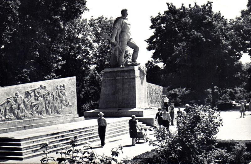 Краснодар. Памятник воинам-освободителям г. Краснодара от фашистских захватчиков