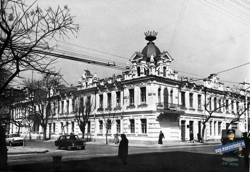 Краснодар. Перекрёсток улиц Красноармейской и Ворошилова. 1980 год.