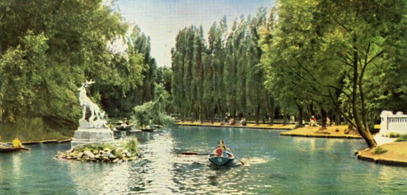 Краснодар. Уголок парка культуры и отдыха им. М. Горького, 1965 год