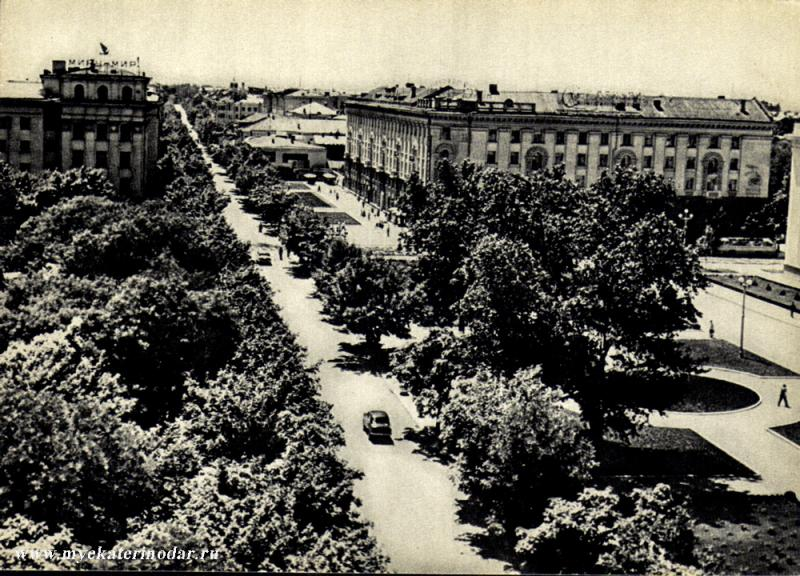 Краснодар. Улица Красная