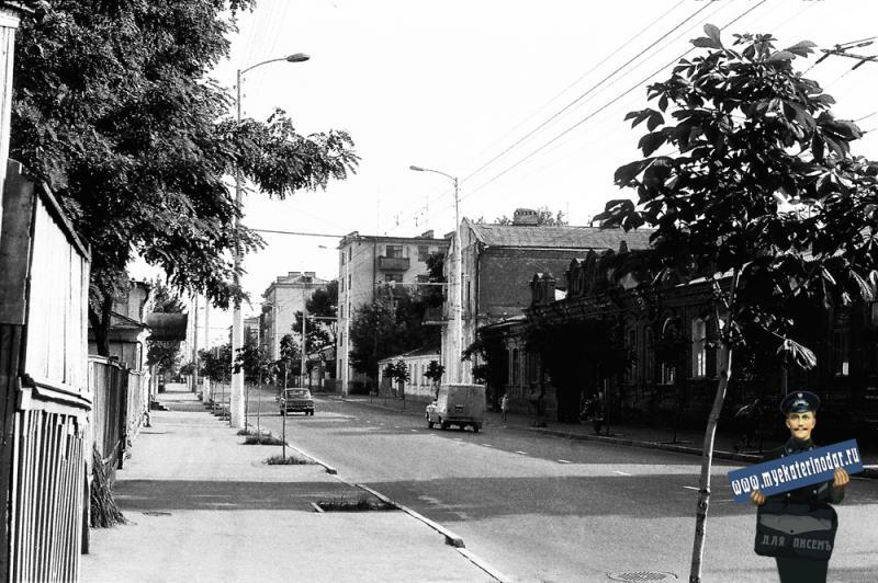 Краснодар. Улица Октябрьская. 1978 год.