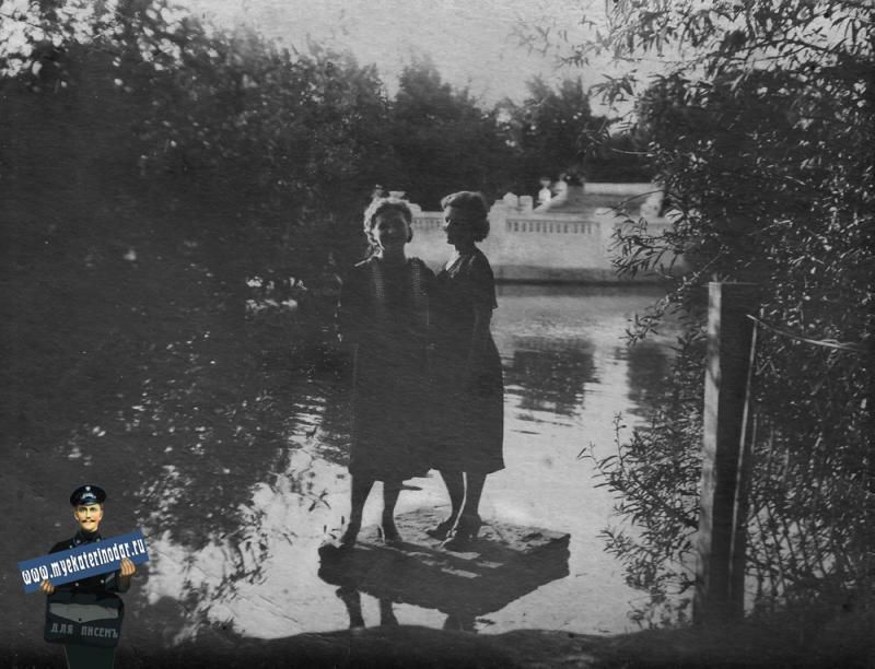 Краснодар. В Городском саду, Июнь 1941 года.