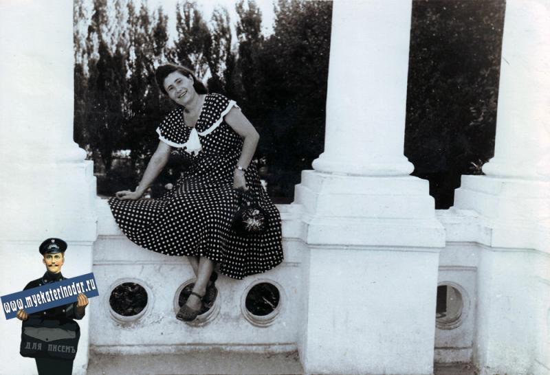 Краснодар. В парке культуры и отдыха  имени М. Горького, 1960 год