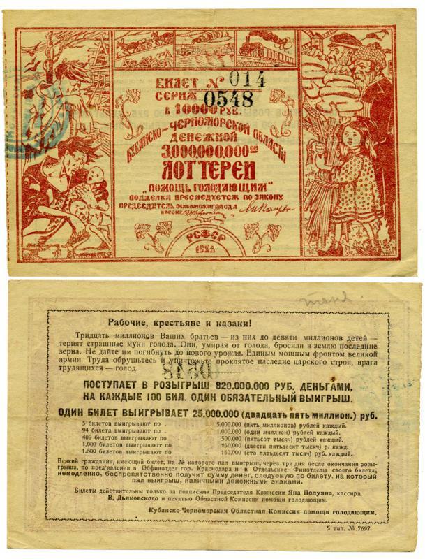 Кубанско-Черноморская Областная Комиссия помощи голодающим