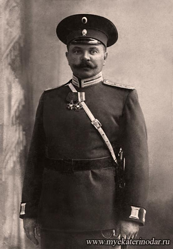 Екатеринодар. Начальник сыскного отделения города Александр Петрович Пришельцев.