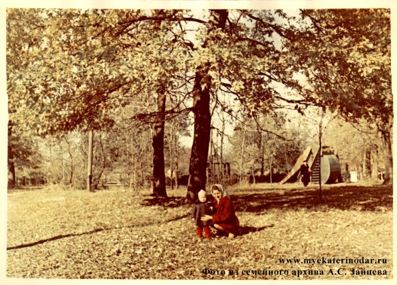Первомайская роща, 1966 год