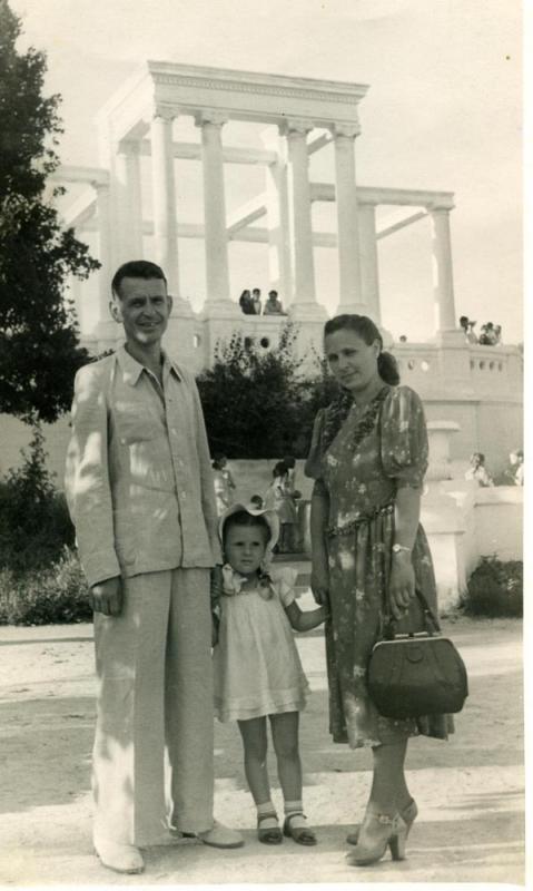 Ротонда в городском парке им. М. Горького, около 1955 года