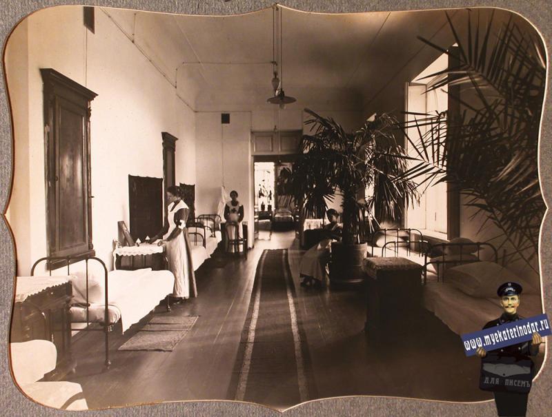 Екатеринодар. Сестры милосердия общины в комнате общежития, 1915 год.