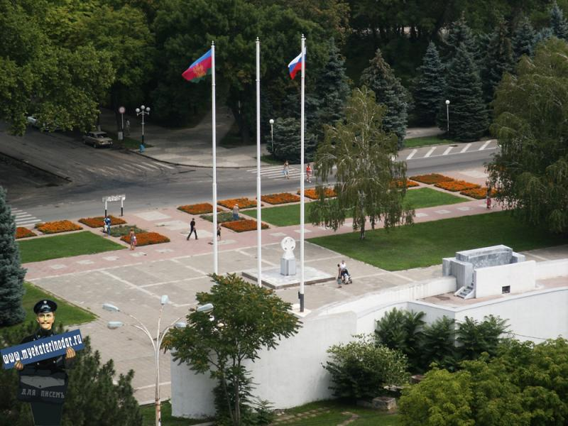 Краснодар. Угол улиц Красной и Постовой, до 2003 года