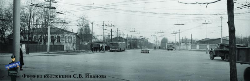 Краснодар. Угол улиц Шаумяна и Северной. 22 декабря 1963 года.