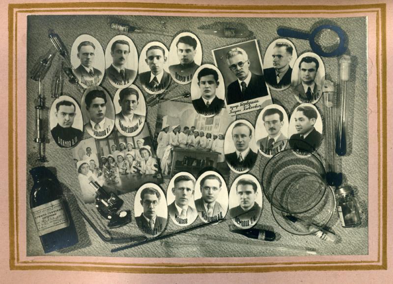 XXXIII-й выпуск врачей Кубанского медицинского института им. Красной Армии