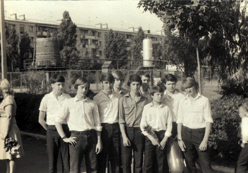 Краснодар. ФМР. СШ № 64, 1983 год