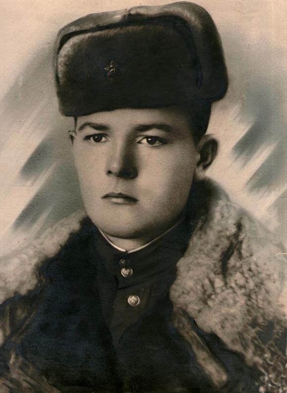Фронтовики. Устрицкий Сергей Николаевич