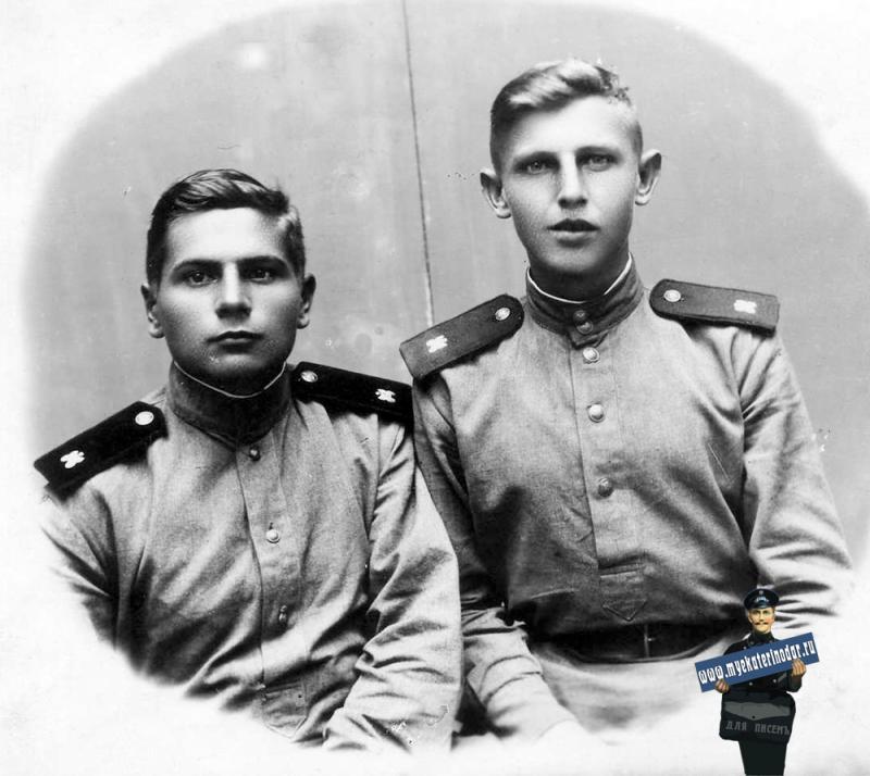 Краснодарцы в годы войны. Георгий Гаврилович Серобабин, 1945 год
