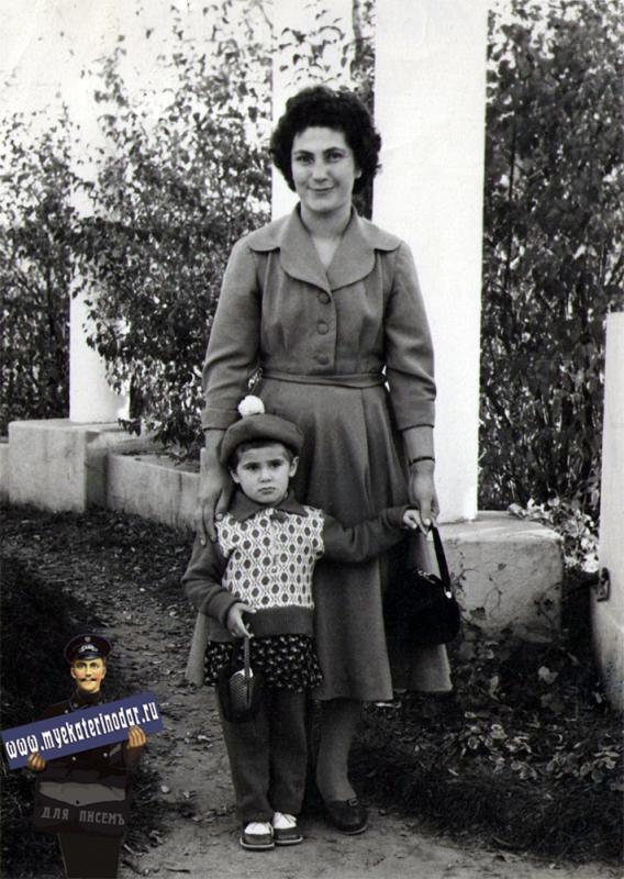 Краснодар. Городской сад, 1961 год