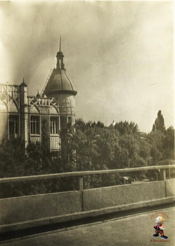 "Краснодар. Гостиница ""Кубань"", 1978 год"