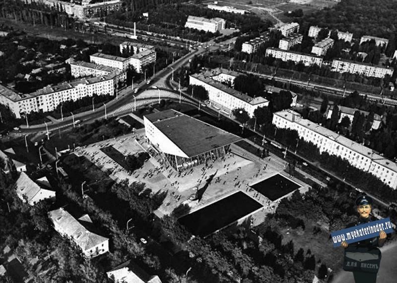 "Краснодар. Кинотеатр "" Аврора"", 1979 год"