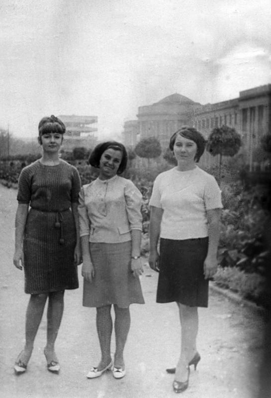 Краснодар. На улице Красной, 1967 год.
