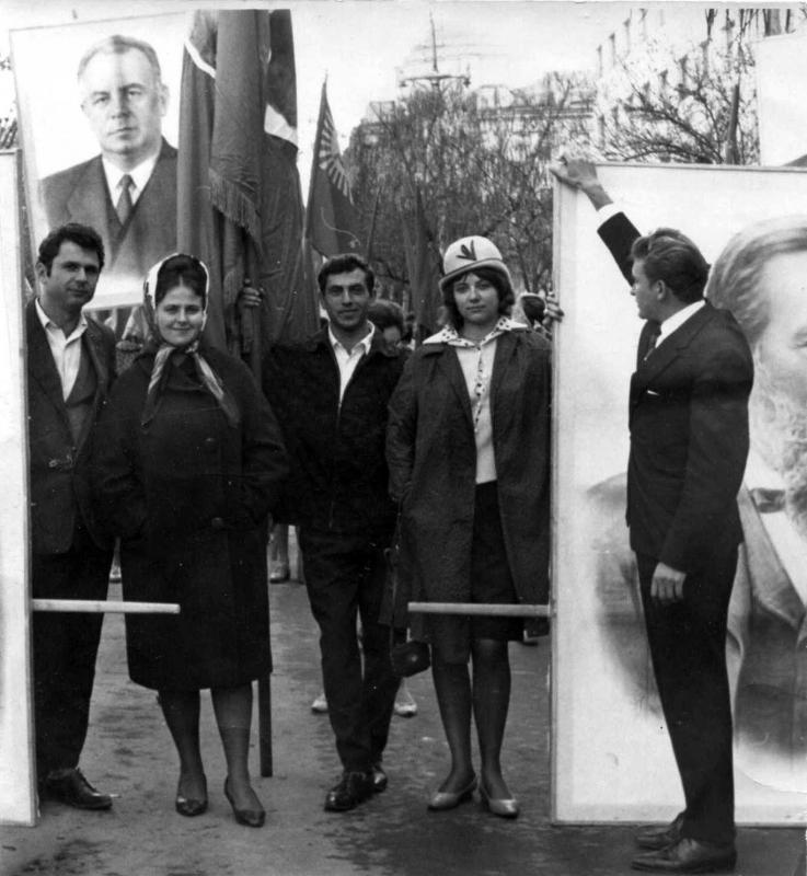 Краснодар. 1 Мая 1965 г.