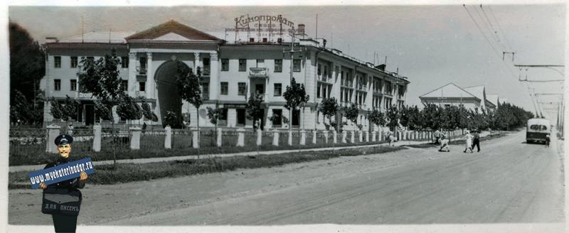 Краснодар. № 11. Жилой дом в городке нефтяников, 1956 год