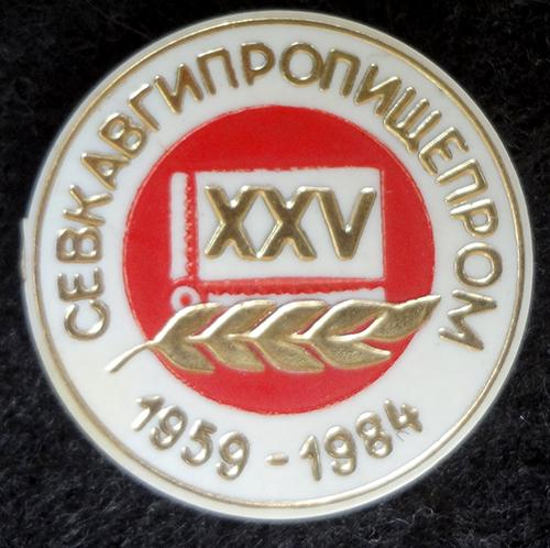 Краснодар. 25 лет Севкавгипропищепром