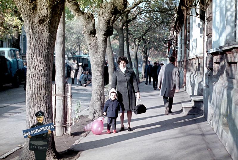 Краснодар. 7 ноября 1971 года.
