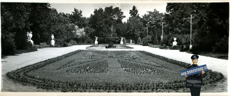 Краснодар. №9. Горпарк им. М. Горького, 1956 год