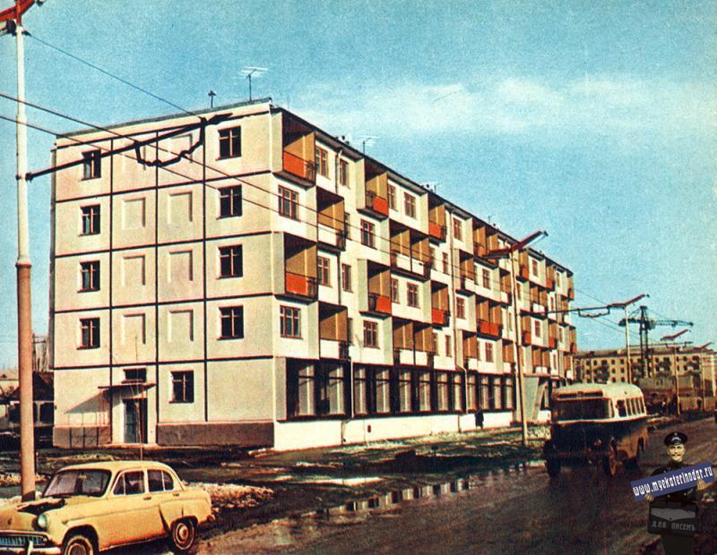 Краснодар. Дом на улице Красной, 1965 год