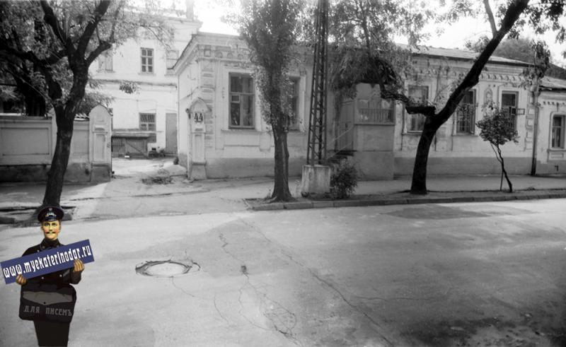 Краснодар. Дом по ул. Советской 44. 1977 год