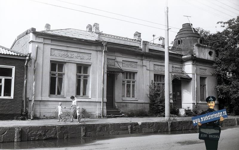 Краснодар. Дом по улице Советской, 70. 1988 год
