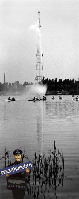 Краснодар. Фонтан на Верхнем Покровском озере