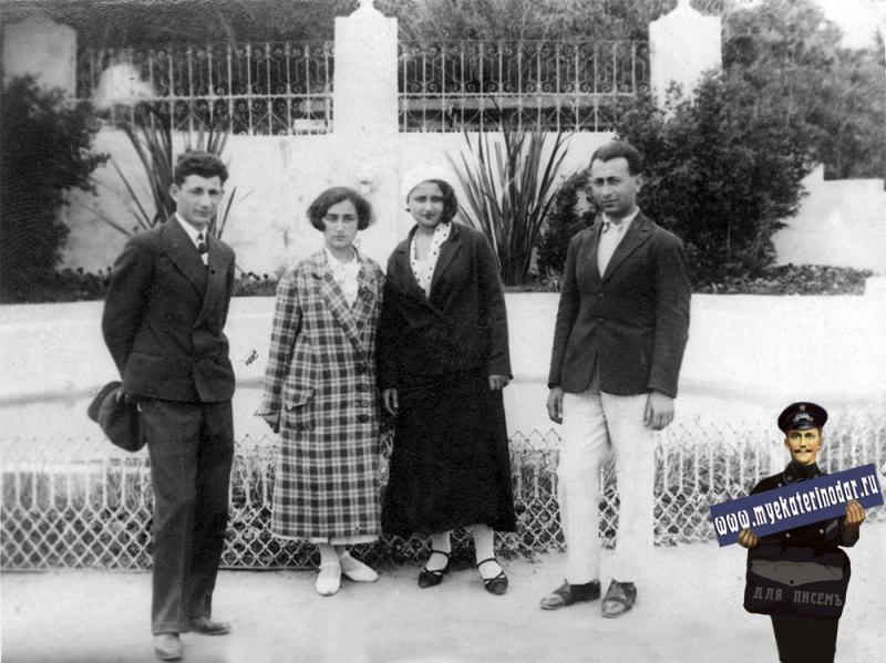 Краснодар. Городской парк им. М. Горького, 2 мая 1935 года.