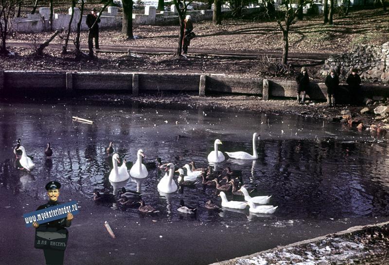 Краснодар. Городской сад, зима 1972/1973 года