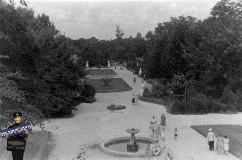 Краснодар. Горпарк, 1950-е годы
