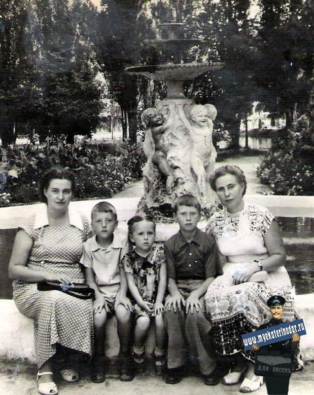 Краснодар. Горпарк, 1958 год