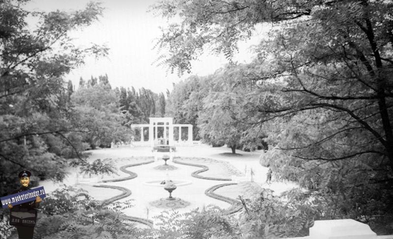 Краснодар. Горпарк, 1962 год.