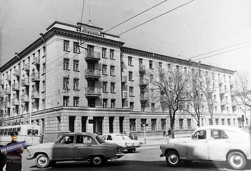 """Краснодар. Гостиница """"Центральная"""", 1970-е годы"""